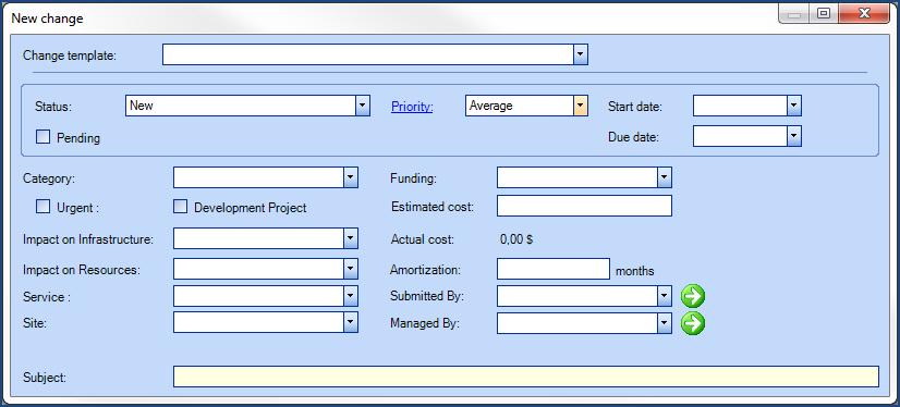 Change Management - Octopus Module | Doc - Octopus